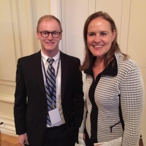 Brian Hart and former Undersecretary of Defense Michele Flournoy.