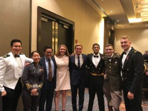 Katherine Cassidy attends 2019 Naval Academy Conference