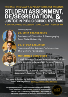 Student Assignment, De/Segregation and Justice in Public School Systems